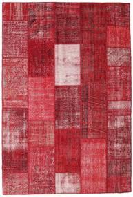 Patchwork Teppich  202X298 Echter Moderner Handgeknüpfter Rot/Dunkelrot (Wolle, Türkei)