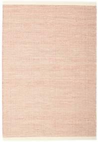 Seaby - Rost Teppich  140X200 Echter Moderner Handgewebter Hellrosa (Wolle, Indien)