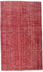 Colored Vintage Teppich 165X279 Echter Moderner Handgeknüpfter Rot/Rost/Rot (Wolle, Türkei)