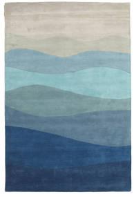 Feeling Handtufted - Blau Teppich  300X400 Moderner Hellblau/Dunkelblau/Hellgrau Großer (Wolle, Indien)