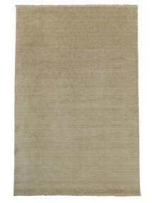 Handloom Fringes - Greige Teppich  300X400 Moderner Hellgrau Großer (Wolle, Indien)