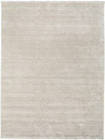 Handloom Fringes - Greige Teppich  200X300 Moderner Hellgrau (Wolle, Indien)