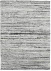 Mazic - Grau Teppich 140X200 Echter Moderner Handgeknüpfter Hellgrau/Türkisblau (Wolle, Indien)