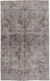 Colored Vintage Teppich 131X215 Echter Moderner Handgeknüpfter Hellgrau/Dunkelgrau (Wolle, Pakistan)
