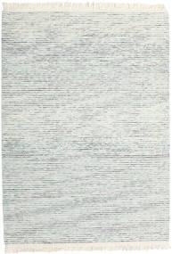 Medium Drop - Blau Mix Teppich  210X290 Echter Moderner Handgewebter Beige/Hellgrau (Wolle, Indien)