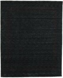 Handloom Gabba - Schwarz/Grau Teppich  240X300 Moderner Schwartz (Wolle, Indien)