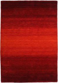 Gabbeh Rainbow - Rot Teppich  160X230 Moderner Rost/Rot/Dunkelrot/Dunkelbraun (Wolle, Indien)