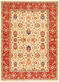 Ziegler Teppich  174X240 Echter Orientalischer Handgeknüpfter Beige/Rot (Wolle, Pakistan)