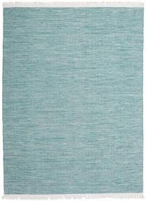 Diamond Wolle - Blau Teppich  210X290 Echter Moderner Handgewebter Hellblau/Dunkel Türkis (Wolle, Indien)