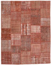 Patchwork Teppich  198X253 Echter Moderner Handgeknüpfter Dunkelrot/Rot (Wolle, Türkei)