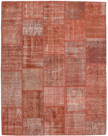 Patchwork Teppich  198X254 Echter Moderner Handgeknüpfter Dunkelrot/Rot (Wolle, Türkei)