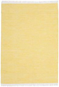 Diamond Wolle - Gelb Teppich  140X200 Echter Moderner Handgewebter Gelb (Wolle, Indien)