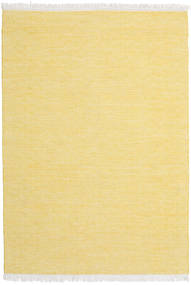 Diamond Wolle - Gelb Teppich  160X230 Echter Moderner Handgewebter Gelb (Wolle, Indien)