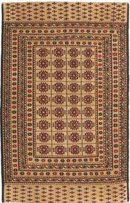 Kelim Golbarjasta Teppich  125X194 Echter Orientalischer Handgeknüpfter Dunkel Beige/Hellbraun (Wolle, Afghanistan)