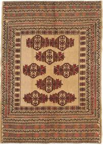 Kelim Golbarjasta Teppich  126X183 Echter Orientalischer Handgewebter Braun/Hellbraun/Dunkel Beige (Wolle, Afghanistan)