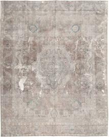 Colored Vintage Teppich  295X369 Echter Moderner Handgeknüpfter Hellgrau Großer (Wolle, Pakistan)