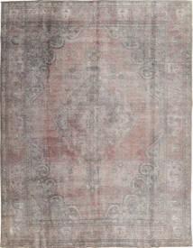 Colored Vintage Teppich  290X374 Echter Moderner Handgeknüpfter Hellgrau/Dunkelgrau Großer (Wolle, Pakistan)
