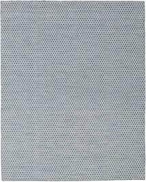 Kelim Honey Comb - Blau Teppich  190X240 Echter Moderner Handgewebter Hellgrau/Blau/Hellblau (Wolle, Indien)
