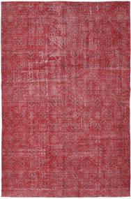 Colored Vintage Teppich  186X287 Echter Moderner Handgeknüpfter Rost/Rot/Rot/Dunkelrot (Wolle, Türkei)