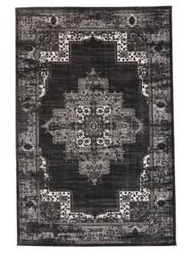 Vintage Vega - Anthracite/Grau Teppich  160X230 Moderner Schwartz/Dunkelgrau ( Türkei)