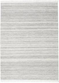 Diamond Wolle - Grau Teppich  210X290 Echter Moderner Handgewebter Hellgrau (Wolle, Indien)
