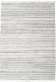 Diamond Wolle - Grau Teppich  240X340 Echter Moderner Handgewebter Hellgrau/Weiß/Creme (Wolle, Indien)
