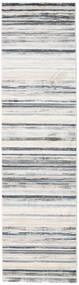 Layered - Grau/Beige Teppich 80X300 Moderner Läufer Hellgrau/Weiß/Creme ( Türkei)