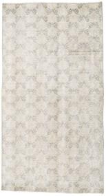 Colored Vintage Teppich 107X198 Echter Moderner Handgeknüpfter Hellgrau/Dunkel Beige (Wolle, Türkei)