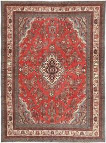 Hamadan Patina Teppich 260X350 Echter Orientalischer Handgeknüpfter Dunkelrot/Rost/Rot Großer (Wolle, Persien/Iran)