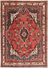 Hamadan Patina Teppich 207X297 Echter Orientalischer Handgeknüpfter Dunkelbraun/Dunkelrot (Wolle, Persien/Iran)