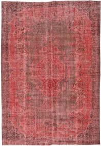 Colored Vintage Teppich  184X272 Echter Moderner Handgeknüpfter Rost/Rot/Dunkelrot (Wolle, Türkei)