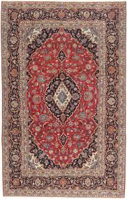 Keshan Patina Teppich 205X327 Echter Orientalischer Handgeknüpfter Dunkelrot/Dunkelbraun (Wolle, Persien/Iran)