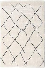 Shaggy Agadir - Off-Weiß/Dunkel Grau Teppich 200X300 Moderner Hellgrau/Beige ( Türkei)