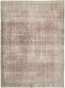 Colored Vintage Teppich  277X374 Echter Moderner Handgeknüpfter Hellgrau/Hellbraun Großer (Wolle, Persien/Iran)