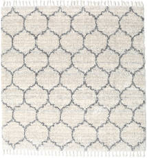 Meissa - Cream-Beige Mix/Grau Teppich  250X250 Moderner Quadratisch Dunkel Beige/Hellgrau/Beige Großer ( Türkei)