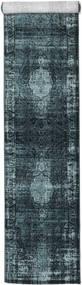 Jacinda - Dunkel Teppich  80X300 Moderner Läufer Dunkelblau/Blau ( Türkei)