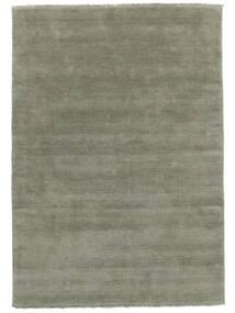 Handloom Fringes - Soft Teal Teppich  160X230 Moderner Hell Grün (Wolle, Indien)