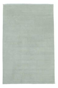 Handloom Fringes - Eisblau Teppich  200X300 Moderner Hellblau (Wolle, Indien)