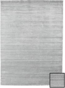 Bambus Grass - Grau Teppich 210X290 Moderner Hellgrau (Wolle/Bambus-Seide, Türkei)