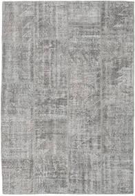 Patchwork Teppich  158X231 Echter Moderner Handgeknüpfter Hellgrau (Wolle, Türkei)