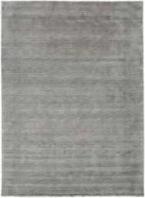 Handloom Gabba - Grau Teppich  240X340 Moderner Hellgrau (Wolle, Indien)