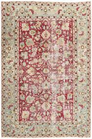 Colored Vintage Teppich 198X305 Echter Moderner Handgeknüpfter Hellgrau/Dunkel Beige (Wolle, Persien/Iran)
