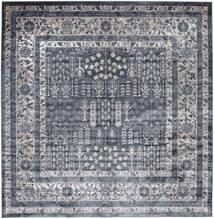 Talis - Grau Teppich  250X250 Moderner Quadratisch Dunkelgrau/Hellgrau/Lila Großer ( Türkei)