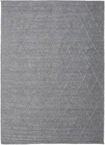 Svea - Charcoal Teppich  200X300 Echter Moderner Handgewebter Hellgrau/Dunkelgrau (Wolle, Indien)