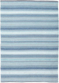 Wilma - Blau Teppich  170X240 Echter Moderner Handgewebter Hellblau (Baumwolle, Indien)