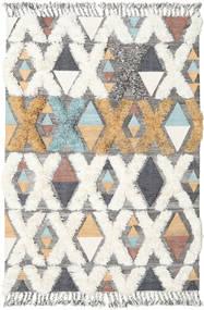 Xavier - Multi Teppich  160X230 Echter Moderner Handgewebter Beige/Hellgrau (Wolle, Indien)