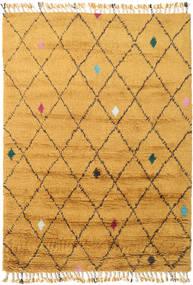 Alta - Gold Teppich  160X230 Echter Moderner Handgeknüpfter Hellbraun/Gelb (Wolle, Indien)