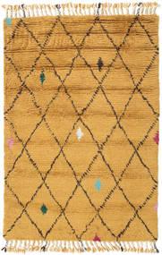 Alta - Gold Teppich 120X180 Echter Moderner Handgeknüpfter Hellbraun/Gelb (Wolle, Indien)