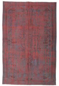 Colored Vintage Teppich  169X260 Echter Moderner Handgeknüpfter Lila/Dunkelbraun (Wolle, Türkei)