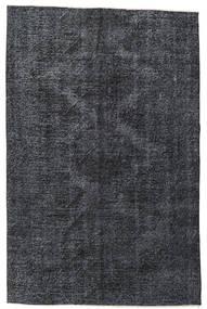 Colored Vintage Teppich  145X220 Echter Moderner Handgeknüpfter Dunkelgrau/Schwartz (Wolle, Türkei)